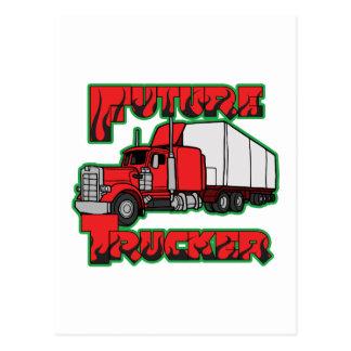 Future Trucker Postcard