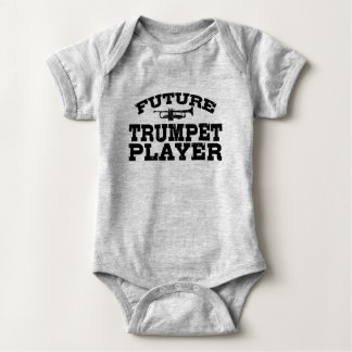 Future Trumpet Player Baby Bodysuit