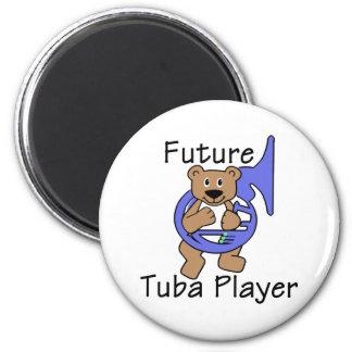Future Tuba Player/ Bear Magnet