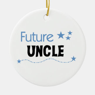 Future Uncle Gifts Ceramic Ornament