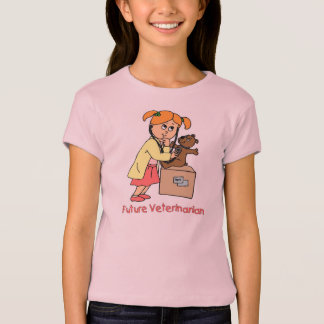 Future Vet - Little Girl T-Shirt