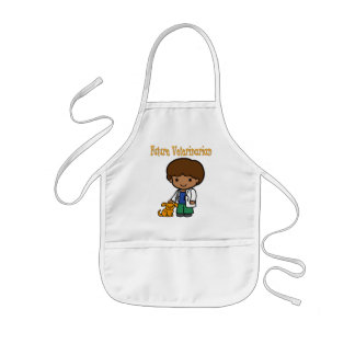 Future Veterinarian When I Grow Up Kids Apron