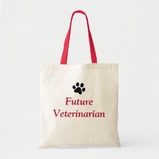 Future Veterinarian with Black Paw Print