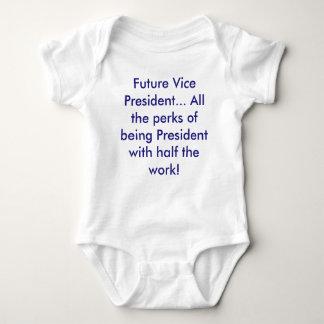 Future Vice President... (democrat blue) Baby Bodysuit
