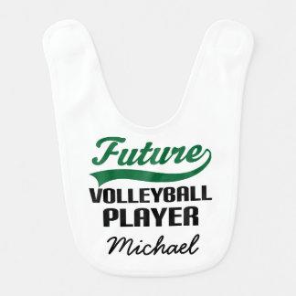 Future Volleyball Player Personalized Baby Bib