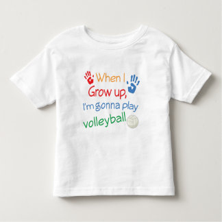 Future Volleyball Player Toddler T-Shirt