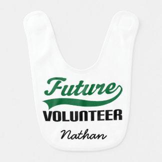 Future Volunteer Personalized Baby Bib