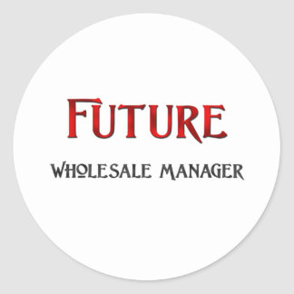 Future Wholesale Manager Round Stickers