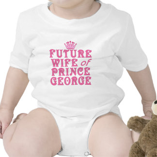 Future Wife of Prince George Rompers
