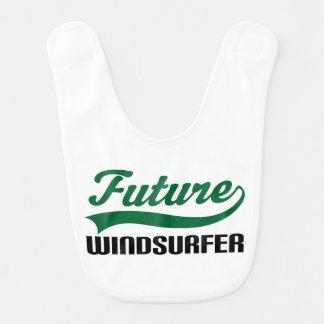 Future Windsurfer Baby Bib