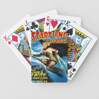 Future Witch Bicycle Playing Cards