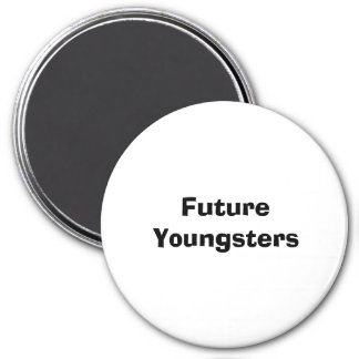 Future Youngsters 7.5 Cm Round Magnet