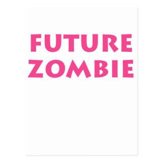 Future Zombie Postcard