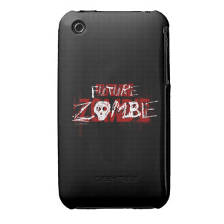 Future Zombie Red White iPhone 3 Covers