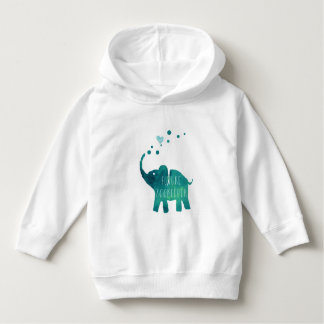 Future Zookeeper Elephant Toddler Hoodie