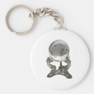 FutureWorld100309 Basic Round Button Key Ring