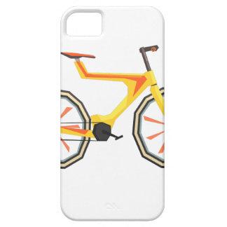 Futurictic Design Yellow Bicycle. Cool Colorful iPhone 5 Cover