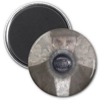 Futurism Disc 6 Cm Round Magnet