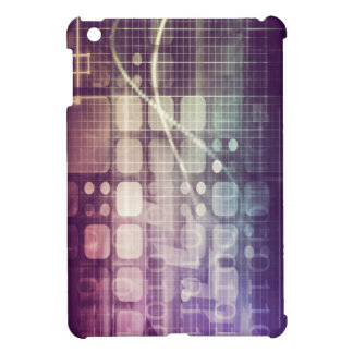 Futuristic Abstract Concept on Technology Case For The iPad Mini