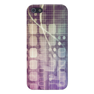 Futuristic Abstract Concept on Technology iPhone 5 Cases