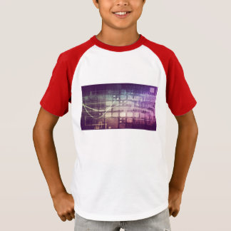 Futuristic Abstract Concept on Technology T-Shirt