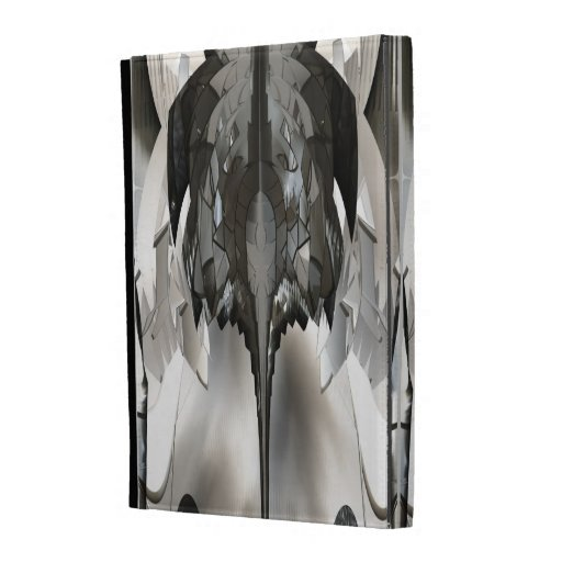 Futuristic Abstract Metal Insect Art iPad Folio iPad Cases