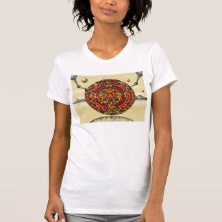 Futuristic Aztec Calendar T-Shirt