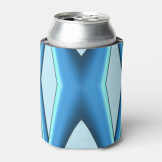 Futuristic Blue Arch Can Cooler