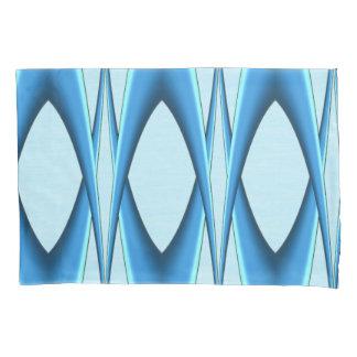 Futuristic Blue Arch Pillowcase