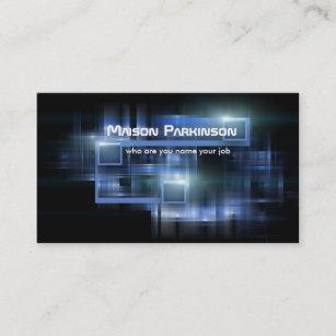 Futuristic Business Cards Zazzle Au