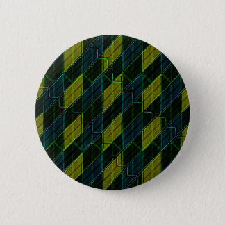 Futuristic Dark Pattern 6 Cm Round Badge