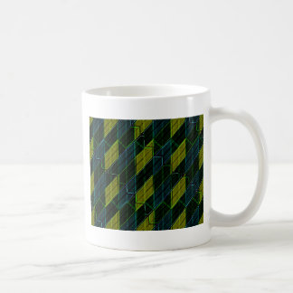 Futuristic Dark Pattern Coffee Mug