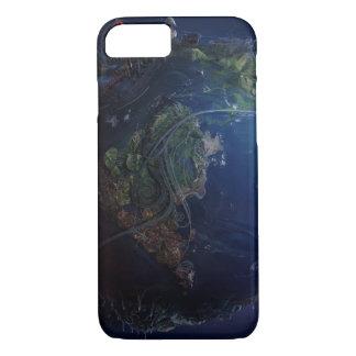 Futuristic Earth iPhone 7 Case