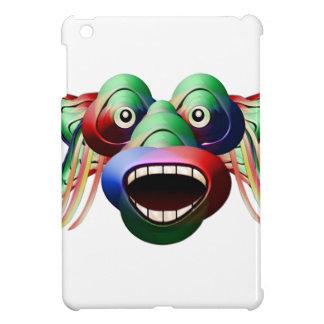 Futuristic Funny Monster Character Face iPad Mini Cover