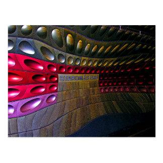 Futuristic Metro(2), Prague Postcard