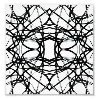 Futuristic Minimal Pattern Photographic Print