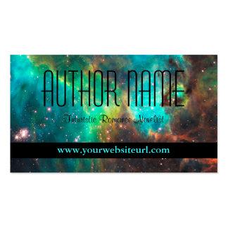 Futuristic or Sci Fi Author Business Card