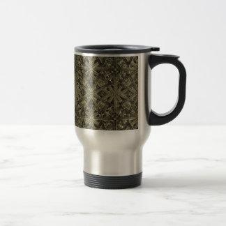 Futuristic Polygonal Travel Mug