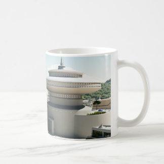 Futuristic Sci-Fi townscape Coffee Mug