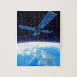 Futuristic Space Station Jigsaw Puzzle