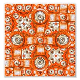 Futuristic Tech Pattern Photo