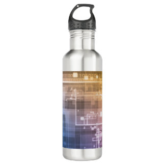 Futuristic Technology as a Next Generation Art 710 Ml Water Bottle