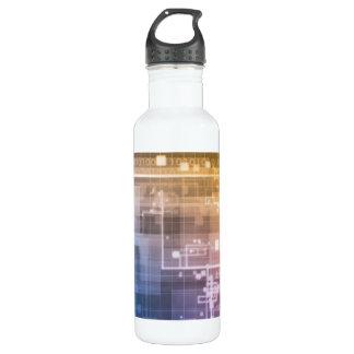 Futuristic Technology as a Next Generation Art 710 Ml Water Bottle