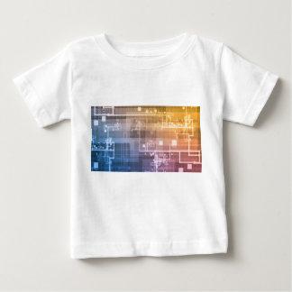 Futuristic Technology as a Next Generation Art Baby T-Shirt