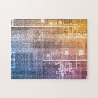 Futuristic Technology as a Next Generation Art Jigsaw Puzzle