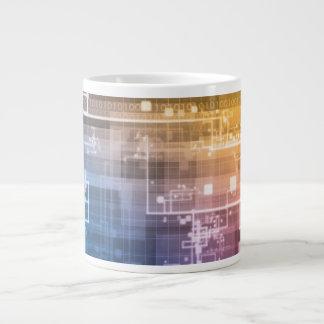 Futuristic Technology as a Next Generation Art Large Coffee Mug