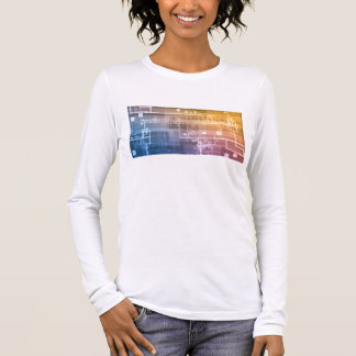 Futuristic Technology as a Next Generation Art Long Sleeve T-Shirt