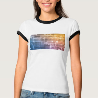 Futuristic Technology as a Next Generation Art T-Shirt