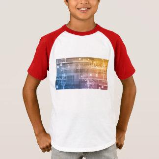 Futuristic Technology as a Next Generation Art T-Shirt
