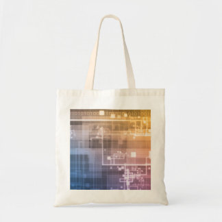 Futuristic Technology as a Next Generation Art Tote Bag